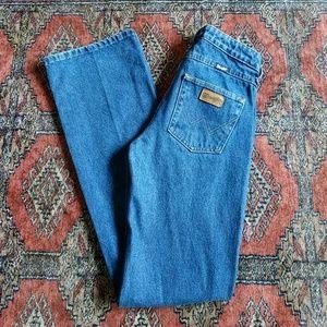 VTG Wrangler jeans 0 x 34 flare boot long